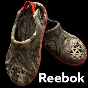 Boys Reebok Slip-on Sandals with Elastic at Heel